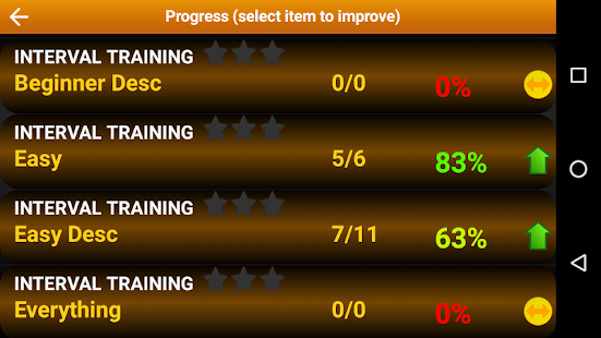 Piano Interval Training - Ear Trainer- screenshot thumbnail