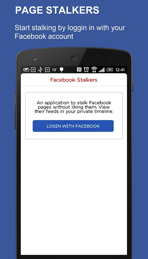 Page Stalkers- screenshot