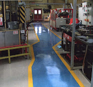 Warehouse floor repairs
