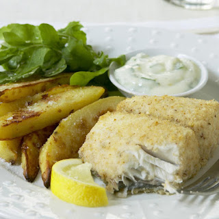 Low Fat Fish and Chips.