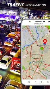 GPS Route Finder Live Earth Maps Navigation - náhled