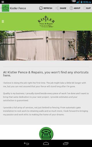 Kistler Fence