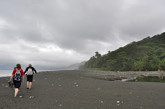 Photo: One day hike into Corcovado started on the beach