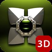 Next Launcher Theme Triada 3D