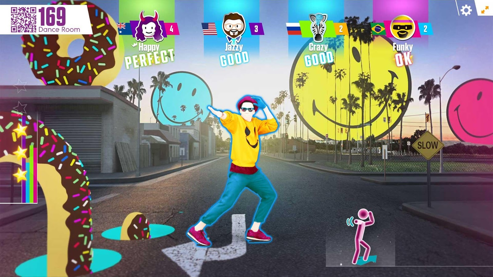 Just Dance Now: captura de pantalla