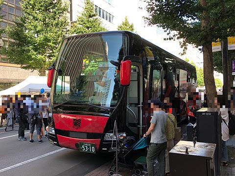 北海道バスフェスティバル2019_17_02 ジェイ・アール北海道バス「コンサドーレ号」_02