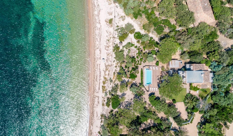 Villa en bord de mer avec jardin Lecci