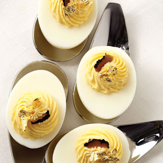 Luxe Truffle Deviled Eggs