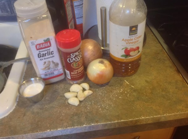 These are some of the ingredients used in this recipe.