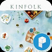 Kinfork style Launcher Theme
