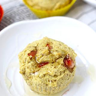 Strawberry Cornbread Muffins {Gluten-Free & Vegan}