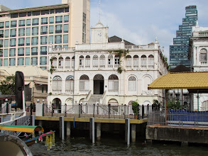 Photo: View of the old East Asiatic Trading Company from theChao Phraya