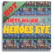 Guess ML BB Heroes by Eyes Quiz: Word Search APK