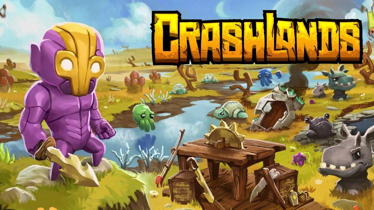 Crashlands is a ction-packed role-playing game