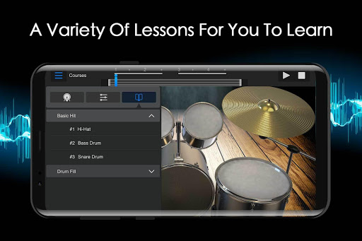 Easy Jazz Drums for Beginners: Real Rock Drum Sets 1.1.3 3