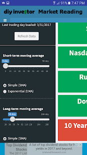 DIY Investor - Market Reading- screenshot thumbnail