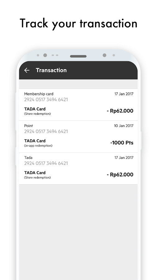 TADA - Wallet For Your Memberships & Rewards- screenshot