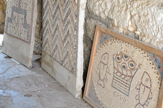 Photo: Mosaic workshop at the Monastery of St. Gerasimus in the Jordan Valley