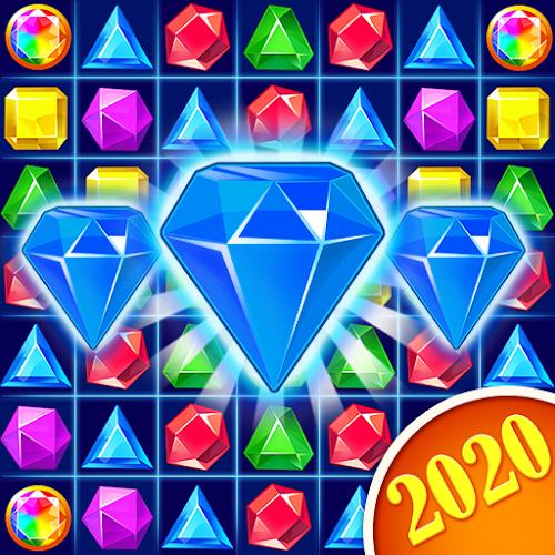 Jewel Crush™ - Jewels & Gems Match 3 Legend  (Mod Money) 4.1.2 mod