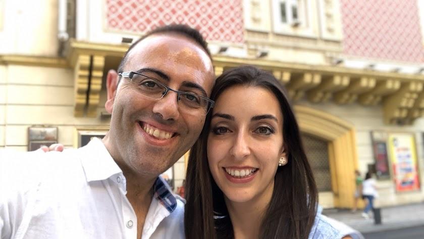 Moisés Iniesta y Ana María Baeza