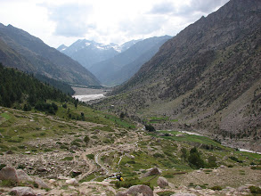 Photo: The Miyar valley, looking down from Khanjar.