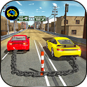 Chained Cars 3D Racing 2017 - speed drift driving icon