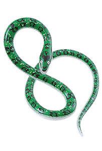Uppblåsbar orm