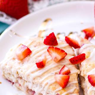 Strawberry Cream Cheese Scones Recipe