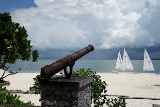 Photo: Ship's cannon
