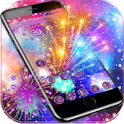 new year fireworks theme