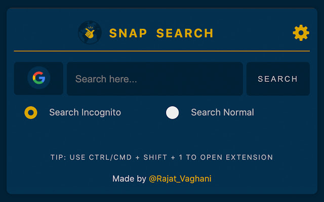 Snap Sarch - Search Faster