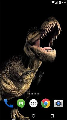 Dino T-Rex 3D Live Wallpaper - screenshot