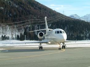 Photo: A nice jet just landed http://www.swiss-flight.net