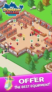 Idle Dungeon Village Tycoon – Adventurer Village  Apk Download For Android and Iphone 5