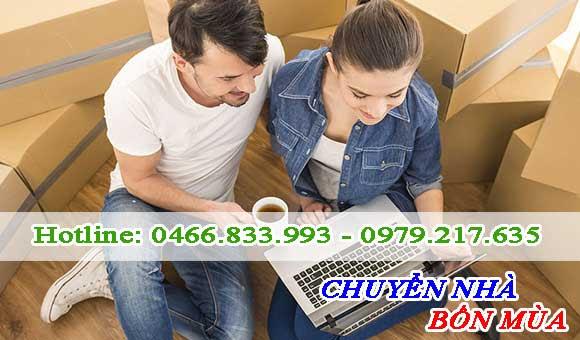 Tham khảo nhiều đon vị cung cấp dịch vụ chuyển nhà