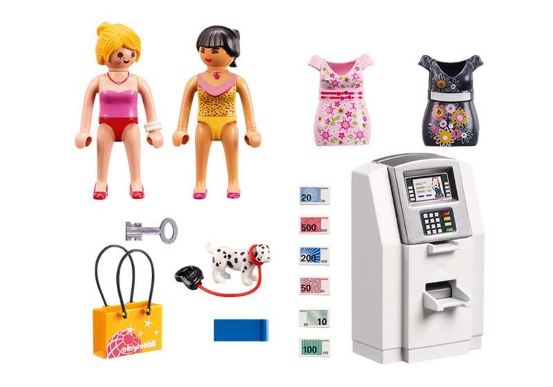 Contenido real de Playmobil® 9081 Cajero Automático