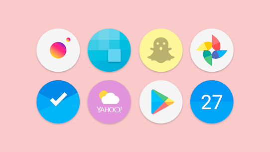 Flat Pie – Icon Pack 1.1 Patched 2