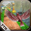 Bird Fly Shock 3D : speed run icon