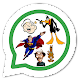 Download Figurinhas frases de personagens - WAStickerApps For PC Windows and Mac