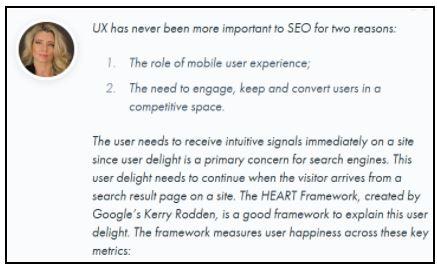 SEO: Cải thiện trải nghiệm người dùng
