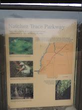 Photo: Beginning of the Natchez Trace Parkway - Natchez MS