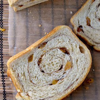 Sourdough Cinnamon Raisin Bread.