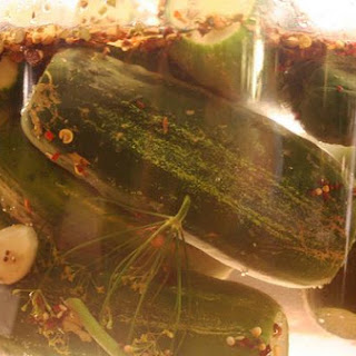 Dill Cucumber Pickles.