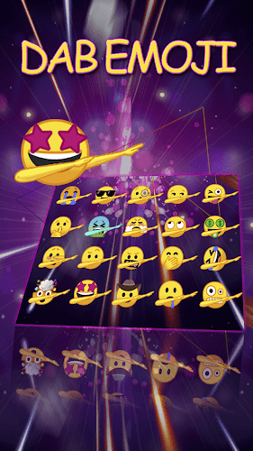 how to get dab emoji android
