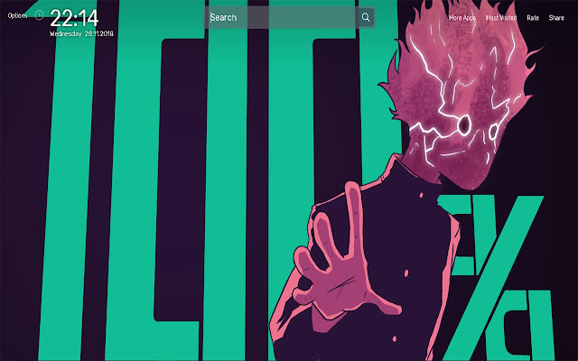 Mob Psycho 100 Wallpapers Theme