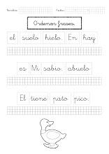 Photo: Ordenar frases-3a