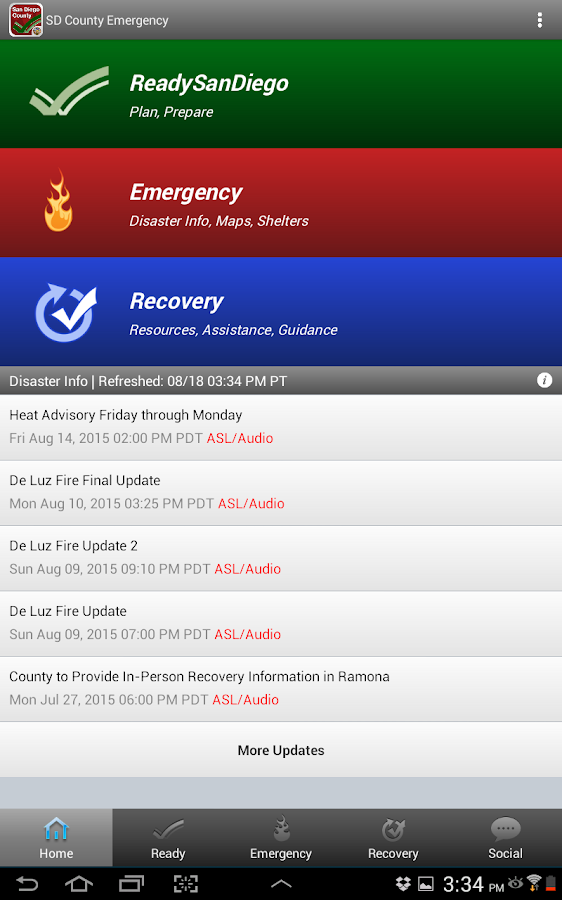 SD Emergency- screenshot