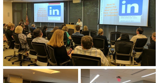 "WIB-RTP: ""How to Make the Most of the New Version of LinkedIn,"" April 27, 2017"