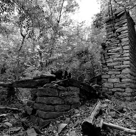 Abandoned homestead by Jeff Sluder - Buildings & Architecture Decaying & Abandoned