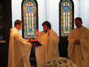 Photo: Celebrant Fr. Kyle Sanders